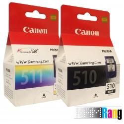 کارتریج جوهرافشان Canon 510 -511