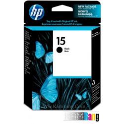 کارتریج جوهرافشان HP 15 مشکی