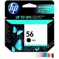 کارتریج جوهرافشان HP 56 مشکی