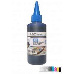 جوهر 100 میلی لیتر SKY آبی برای پرینترهای HP