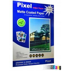 کاغذ کتد مات پیکسل سایز A4 وزن 140 گرم 100 برگ دو طرفه