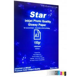 کاغذ فتوگلاسه Star سایز A3 وزن 150 گرم