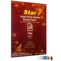 کاغذ فتوگلاسه Star سایز A3 وزن 250 گرم