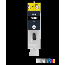 کارتریج قابل شارژ جوهرافشان کانن 450-451 رنگ مشکی مات