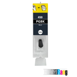 کارتریج قابل شارژ جوهرافشان کانن 450 رنگ مشکی مات