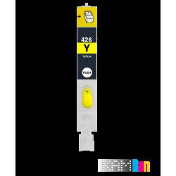 کارتریج قابل شارژ پرینترهای کانن IP4940 - IP4840 رنگ زرد