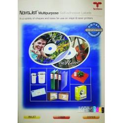 کاغذ پشت چسبدار نواجت برای سی دی 100 برگی 160 گرمی NJ CDL 02 - 116.5
