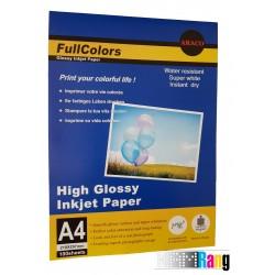 کاغذ گلاسه فول کالرز سایز A4 وزن 115 گرم