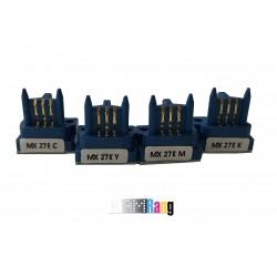 چیپ کارتریج کپی شارپ MX-2700 سری 4 رنگ