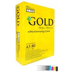 کاغذ Gold سایز A5