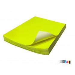 کاغذ مات فسفری سایز A4 وزن 150 گرم 100 برگ پشت چسب دار