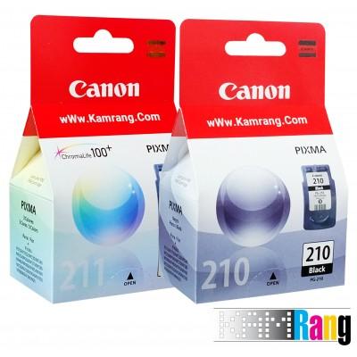 کارتریج جوهرافشان Canon 210-211