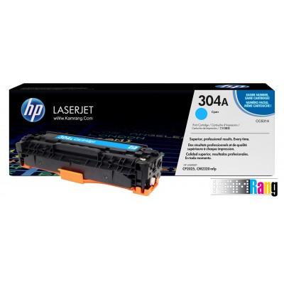 کارتریج لیزری HP 304A آبی