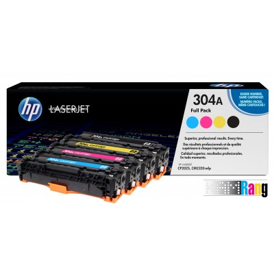 کارتریج لیزری HP 304A سری کامل