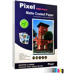 کاغذ کتد مات Pixel سایز A4 وزن 190 گرم 50 برگ