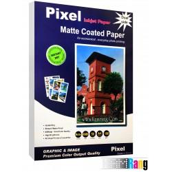 کاغذ کتد مات پیکسل سایز A4 وزن 190 گرم 50 برگ دو طرفه