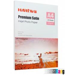 کاغذ فتوگلاسه ابریمشی آرسی هارتوی سایز A4 وزن 260 گرم 20برگی