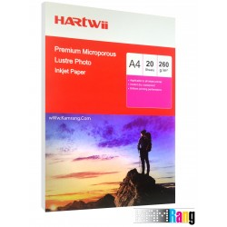 کاغذ لاستر گلاسه هارتوی سایز A4 وزن 260 گرم 20برگی