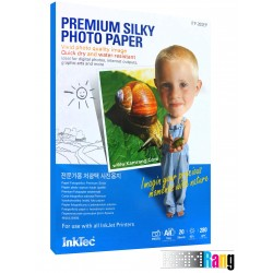 کاغذ سیلکی (ابریشمی) اینک تک سایز A4 وزن 280 گرم 20 برگ