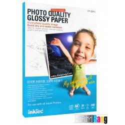 کاغذ فتوگلاسه اینک تک سایز A4 وزن 260 گرم 20 برگ