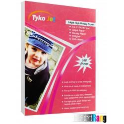کاغذ های گلاسه براق تایکوجت سایز A4 وزن 150 گرم 100 برگ