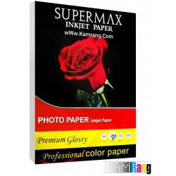 کاغذ فتوگلاسه سوپرمکس سایز a4 وزن 260 گرم 100 برگ