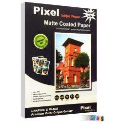 کاغذ کتد مات Pixel سایز A3 وزن 190 گرم دو طرفه 50 برگ