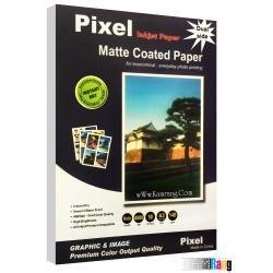 کاغذ کتد مات Pixel سایز A3 وزن 140 گرم دو طرفه 100 برگ