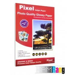 کاغذ فتوگلاسه پیکسل سایز 10x15 وزن 250 گرم 20 برگ