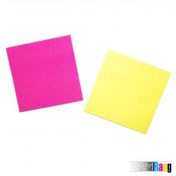 کاغذ یادداشت چسب دار پنج رنگ سایز 7.5x7.5