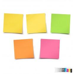 کاغذ یادداشت چسب دار پنج رنگ سایز 5.5x5.5