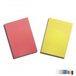 کاغذ یادداشت چسب دار پنج رنگ سایز 10x14.5