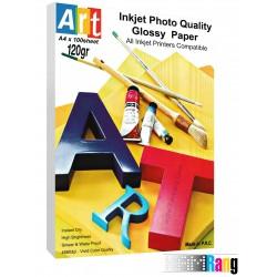 کاغذ فتوگلاسه آرت سایز A4 وزن 120 گرم 100برگ