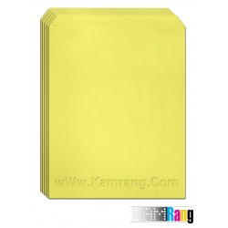 پاکت اداری A4 رنگ زرد