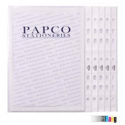 پوشه کیسه ای شفاف A5 پاپکو کد7-A5