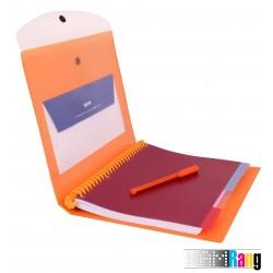 دفتر جیبدار رنگی الوان NB-606