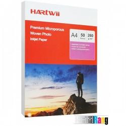 کاغذ برجسته وون هارتوی سایز A4 وزن 260 گرم 50 برگ