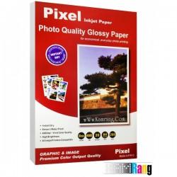 کاغذ فتوگلاسه Pixel سایز A4 وزن 260 گرم جعبه مقوایی