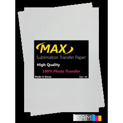 کاغذ سابلیمیشن مکس 100 برگ سایز A4