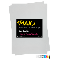 کاغذ سابلیمیشن مکس 100 برگ سایز A3