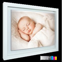 قاب عکس معلق آیکیا سایز 50×40 رنگ سفید