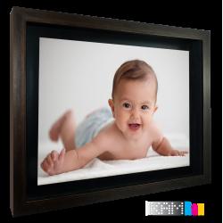 قاب عکس معلق آیکیا سایز 50×40 رنگ قهوه ای