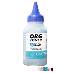 تونر 90 گرمی کارتریج لیزر رنگی اچ پی 312A آبی