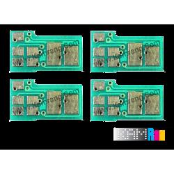 چیپ کارتریج لیزر رنگی اچ پی 201A سری کامل